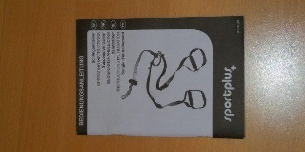 Anleitung Sportplus Schlingentrainer
